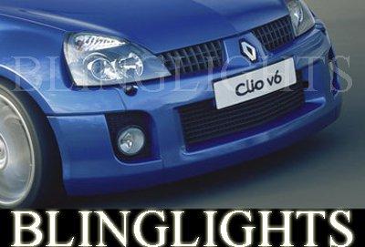 2001-2005 RENAULT CLIO V6 FOG LIGHTS lamps sport 2002 2003 2004