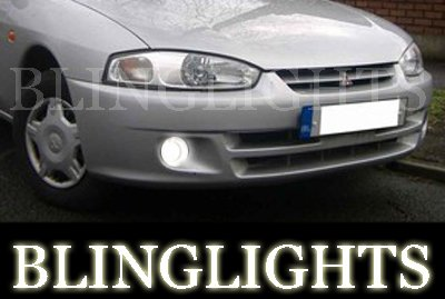 1995-2002 Mitsubishi Colt CJO Xenon Fog Lamps Driving Lights Foglamps Foglights Kit