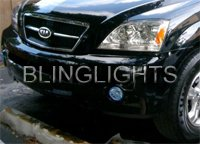 2003 2004 2005 2006 2007 2008 2009 Kia Sorento Xenon Fog Lamps Driving Lights Foglamps kit