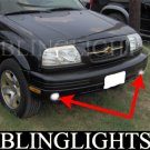 1999 2000 2001 Suzuki Vitara & Grand Vitara Xenon Foglamps Foglights Driving Fog Lamps Lights Kit