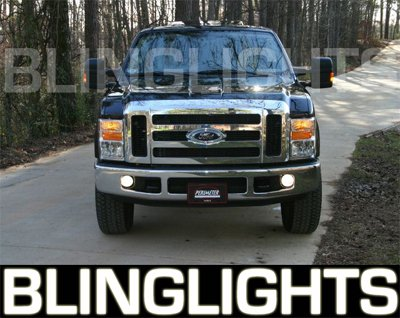 2008 2009 2010 Ford F250 F-250 Super Duty Xenon Fog Lamps Driving Lights Foglamps Foglights Kit