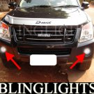 2007 2008 2009 2010 2011 2012 Isuzu D-Max Denver Rodeo Pickup Xenon Fog Lamps Lights Foglamps Kit