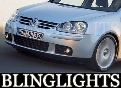 2003 2004 2005 2006 2007 2008 2009 Volkswagen VW Rabbit Golf Mk5 MkV Xenon Foglamps Fog Lamps Lights