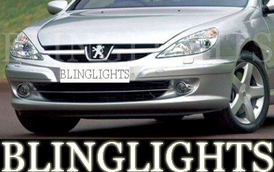 1999-2009 PEUGEOT 607 FOG LIGHTS driving lamps 2000 2001 2002 2003 2004 2005 2006 2007 2008