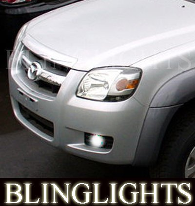 2006 2007 2008 2009 Mazda BT-50 LED Foglamps Foglights Driving Fog Lamps Lights Kit