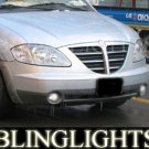 2004-2008 SSANGYONG STAVIC FOG LIGHTS LAMPS sv270 xdi 2005 2006 2007
