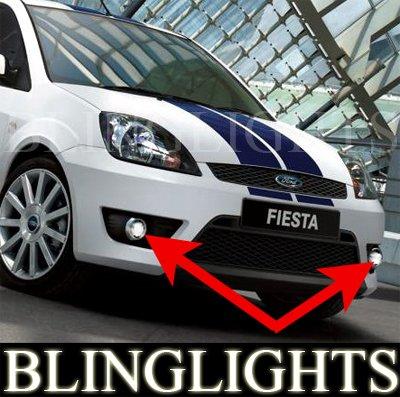 2002 2003 2004 2005 2005 2007 2008 Ford Fiesta ST XR4 LED Fog Lamps Driving Lights Foglamps Kit