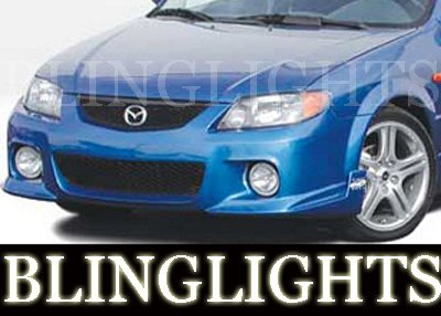 2001-2003 MAZDA PROT�G� WINGS WEST BODY KIT FOG LIGHTS LAMP 2002