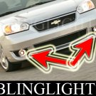 2006 2007 Chevrolet Chevy Malibu SS Xenon Fog Lamps Driving Lights Foglamps Foglights Kit