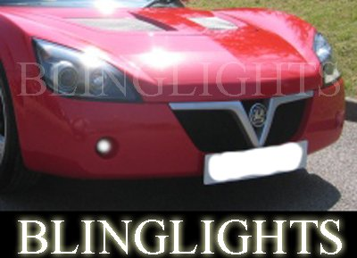 2001 2002 2003 2004 2005 2006 Vauxhall VX220 Xenon Fog Lamps Driving Lights Foglamps Foglights Kit