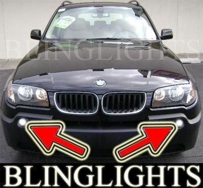 2004-2006 BMW X3 e83 xenon Fog Lamps Driving Lights Kit