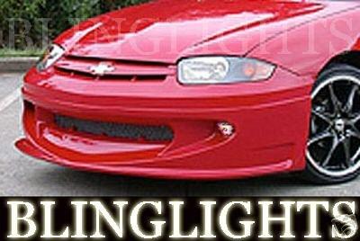 Chevrolet Cavalier Erebuni Body Kit Bumper Fog Lamps Lights Chevy