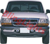 1998 1999 2000 ford ranger xenon bumper fog lights driving lamps kit. Black Bedroom Furniture Sets. Home Design Ideas