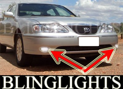 2004 2005 Toyota Avalon GXi Xenon Fog Lamps Driving Lights Foglamps Foglights Drivinglights Kit