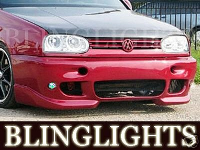 1994-1998 VW Golf AAS Body Kit Foglamps Bumper Drivinglights Volkswagen