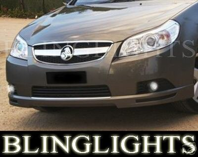 Chevy Epica Halo Fog Lamps Angel Eye Driving Lights Kit