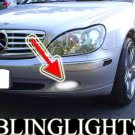 1999 2000 2001 2002 2003 2004 2005 Mercedes-Benz S-Class Xenon Fog Lamps Driving Lights Kit W220