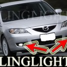 2008 2009 Mazda3 Mazda 3 Maxx Sport BK 2 Xenon Fog Lamps Driving Lights Foglamps Foglights Kit