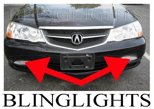 2002 2003 Acura TL Type-S TL-S TLS A-Spec Xenon Fog Lamps Driving Lights Foglamps Foglights Kit