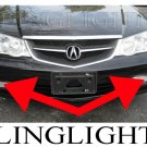 2002 2003 Acura TL Type-S TL-S TLS A-Spec Xenon Fog Lamps Driving Lights Foglamps Foglights Kit