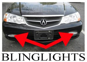 Acura 2002 on 2002 2003 Acura Tl Type S Tl S Tls A Spec Xenon Fog Lamps Driving