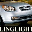 1999-2007 HYUNDAI TRAJET FOG LIGHTS DRIVING LAMPS LIGHT LAMP KIT sx 2001 2002 2003 2004 2005 2006
