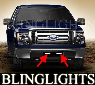 2009-2013 Ford F-150 XL STX Fog Lamp Driving Light Kit F150