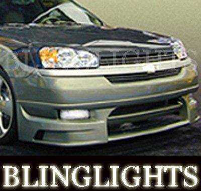 2004 2005 2006 2007 Chevrolet Chevy Malibu Erebuni Body Kit Fog Lamps Bumper Driving Lights