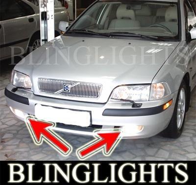 1995-2003 VOLVO S40 2.0T XENON FOG LIGHTS DRIVING LAMPS LIGHT KIT 1996 1997 1998 1999 2000 2001 2002