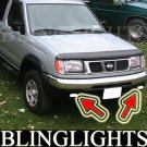 1998 1999 2000 Nissan Frontier Xenon Fog Lamp Light Kit Foglamps Drivinglights