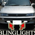 1992 1993 1994 1995 1996 1997 Toyota Corolla Saloon Xenon Fog Lamps Driving Lights Foglamp Foglight