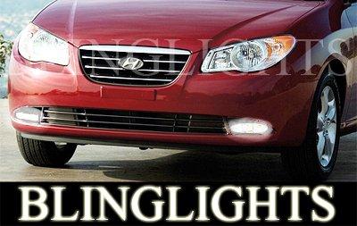2007 2008 2009 Hyundai Elantra GLS SE Xenon Fog Lights Driving Lamps Kit