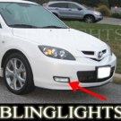 2007 2008 2009 Mazda3 Mazda 3 Hatchback Hatch Xenon Foglamps Fog Lamps Driving Lights Kit