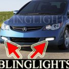 2006-2008 ACURA CSX FOG LIGHTS DRIVING LAMPS LIGHT LAMP KIT driving lamp type-s 2007
