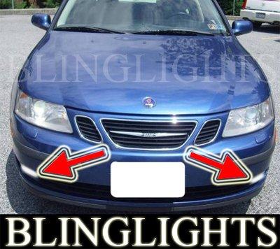 2003-2007 SAAB 9-3 LINEAR 1.8T 2.0T FOG LIGHTS XENON DRIVING LAMPS LIGHT LAMP KIT 2004 2005 2006