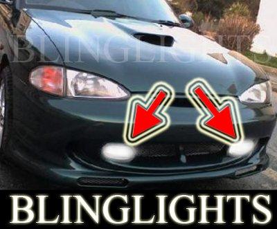 1995 1996 1997 1998 1999 Hyundai Accent GT Fog Lamp Driving Light Kit