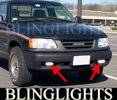 1996 1997 1998 1999 2000 Isuzu Hombre Xenon Fog Lamps Driving Lights Foglamps Foglights Kit