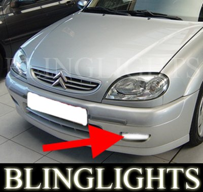 1996-2003 CITROEN SAXO FOG LIGHTS DRIVING LAMPS LIGHT LAMP KIT vtr vts chanson 1999 2000 2001 2002