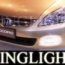 2003 2004 2005 2006 2007 Honda Accord Coupe Sedan Xenon Fog Lamps Driving Lights Foglamps Foglights
