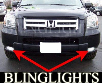 2006 2007 2008 Honda Pilot Xenon Fog Lamps Driving Lights Foglamps Foglights drivinglights kit