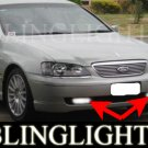 2003 2004 2005 Ford Fairlane G220 Xenon Fog Lamps Driving Lights Kit BA