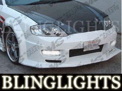 2003-2006 HYUNDAI TIBURON VIS RACING BODY KIT FOG LIGHTS DRIVING LAMPS LIGHT LAMP KIT 2004 2005
