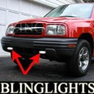 1999-2004 CHEVY TRACKER FOG LIGHTS DRIVING LAMPS LIGHT LAMP KIT base lt zr2 2000 2001 2002 2003