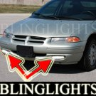 2000 DODGE STRATUS SE BUMPER XENON FOG LIGHTS DRIVING LAMPS LIGHT LAMP KIT