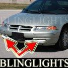 2000 DODGE STRATUS SE BUMPER XENON FOG LIGHTS DRIVING LAMPS LIGHT LAMP KIT