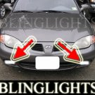 1998 1999 2000 Hyundai Elantra Xenon Fog Lamps Driving Lights Foglamps Foglights Drivinglights Kit
