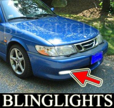 1999-2002 SAAB 9-3 VIGGEN XENON FOG LIGHTS DRIVING LAMPS LIGHT LAMP KIT 2000 2001