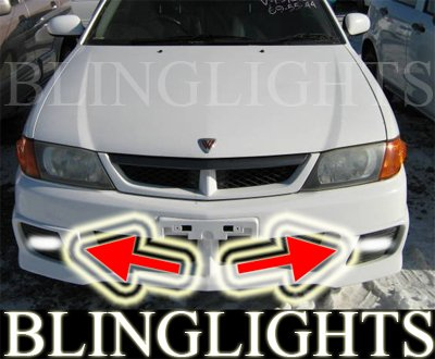 Y11 Nissan Wingroad Square Fog Lamps Driving Lights Kit foglamps foglights drivinglights