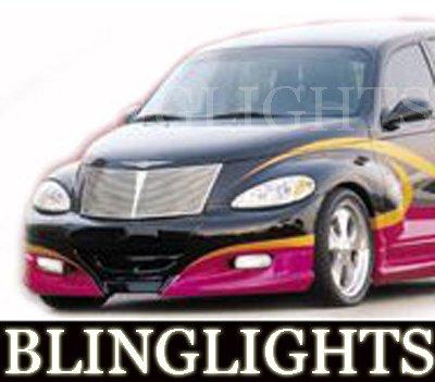 Chrysler PT Cruiser Xenon Crusher Body Kit Bumper Fog Lamps Driving Lights Foglamps Foglights