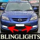 2007 2008 2009 Mazdaspeed3 Mazda3 MPS Mazda 3 Speed Xenon Fog Lamps Driving Lights Foglamps Kit